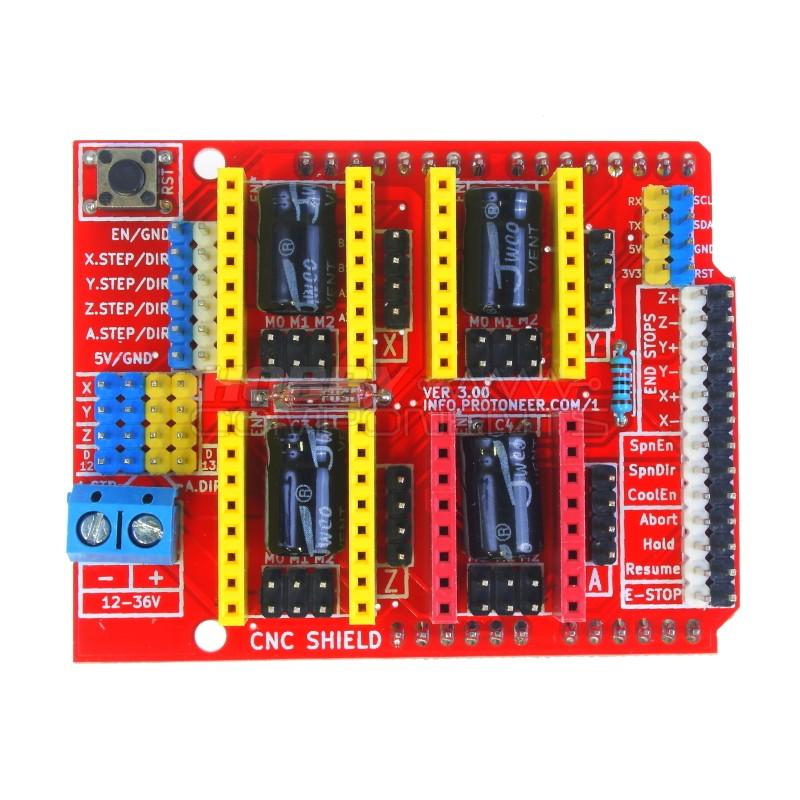 Arduino CNC Shield V3 for DIY CNC machines, Laser engrave