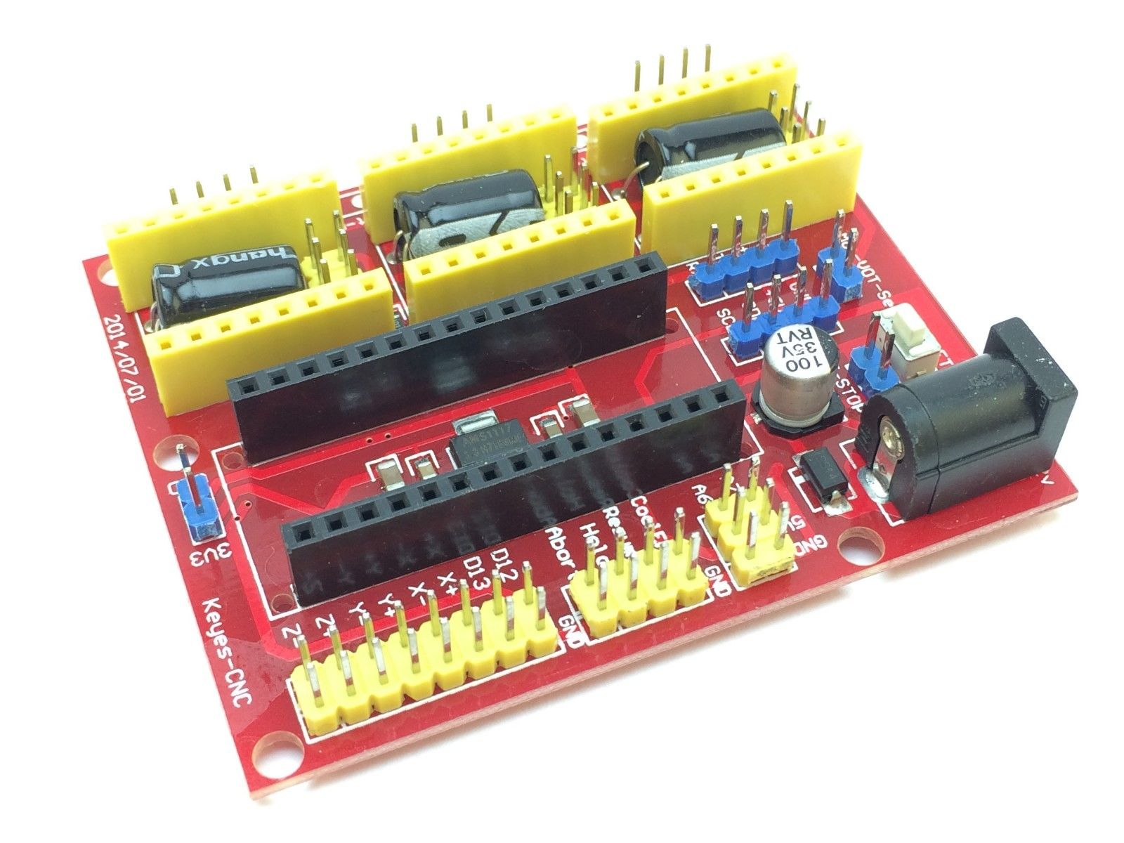 Arduino CNC Shield V4 for DIY CNC machines, Laser engraver, stepper driver