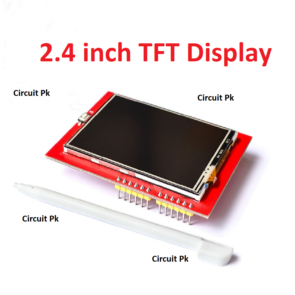 2 4 inch LCD Display 240x320 SPI TFT ILI9341 White LED for Arduino oled LCD  Serial Port Module 5V/3 3V PCB Adapter Micro SD Card